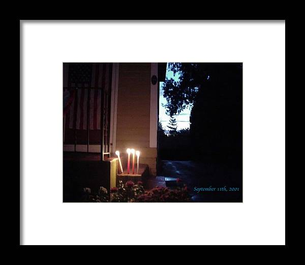 Candles Framed Print featuring the photograph What We Could Only Do by Ross Powell