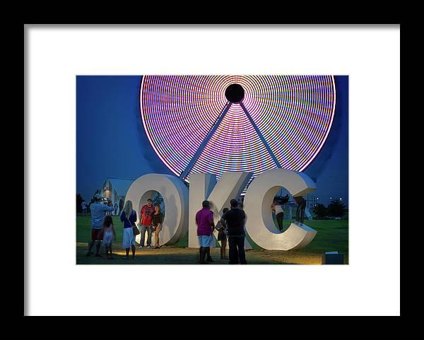 Wheeler Framed Print featuring the photograph Wheeler Wheel IIi by Ricky Barnard