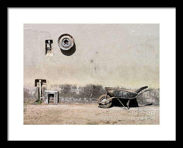 Wheel Framed Print featuring the photograph Wheels by Carlos Alvim
