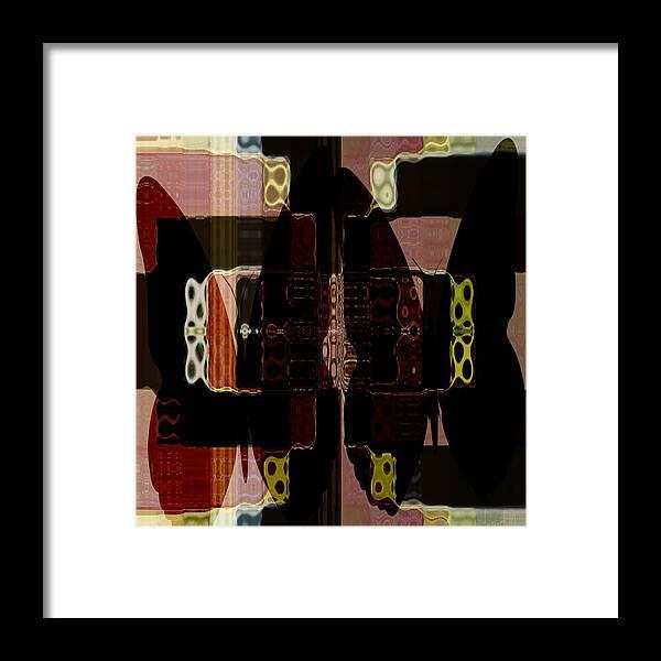 Fania Simon Framed Print featuring the photograph When Butter Flies by Fania Simon