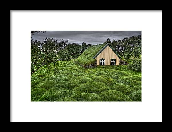 Hof Framed Print featuring the photograph When Heaven Calls Your Name by Evelina Kremsdorf