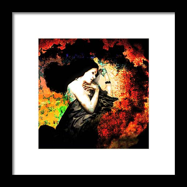 Sleep Framed Print featuring the photograph When Sleep Begins To Engulf.... by Jeff Burgess