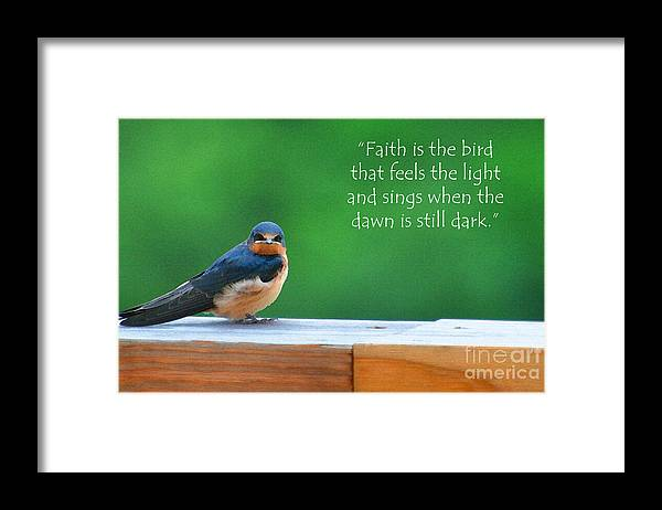 Diane Berry Framed Print featuring the painting When The Dawn Is Still Dark by Diane E Berry
