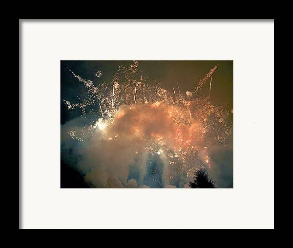 4th Framed Print featuring the photograph When The Smoke Clears by Jim DeLillo