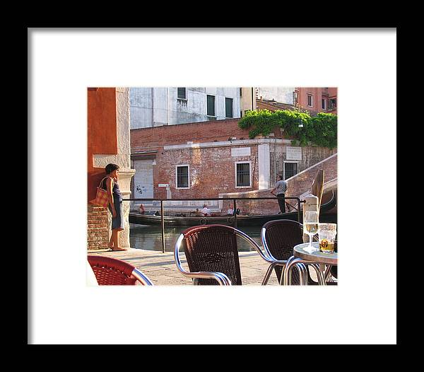 Italy Framed Print featuring the photograph Where Are You by Tom Tripp