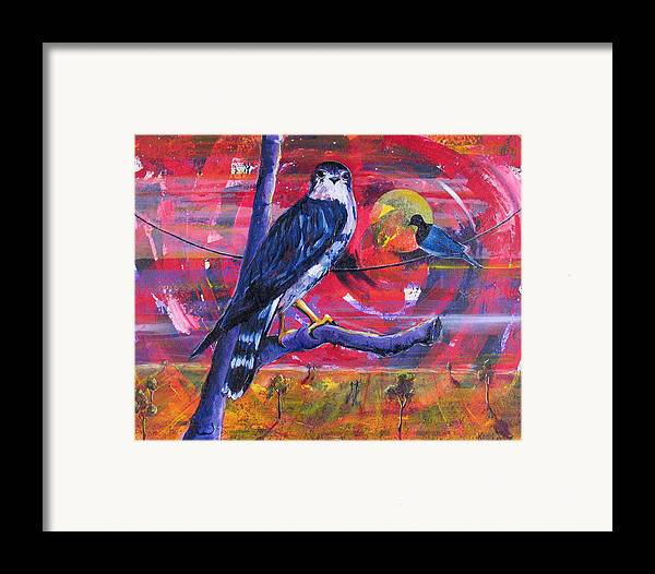 War Framed Print featuring the painting Where Is Love by Rollin Kocsis