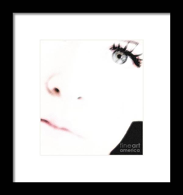 Face Framed Print featuring the photograph Where Is The Soul by Amanda Barcon