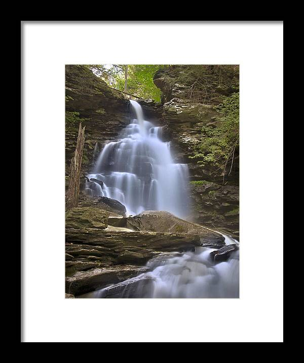 Blur Framed Print featuring the photograph Where Waters Flow by Evelina Kremsdorf