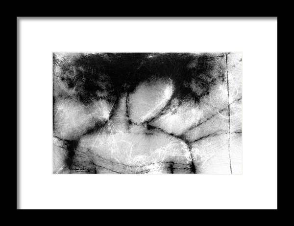White Framed Print featuring the digital art White Dreams by Veronica Jackson