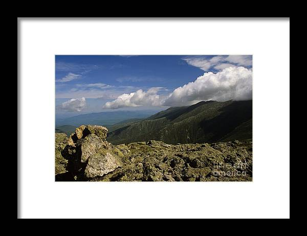 Appalachian Trail Framed Print featuring the photograph White Mountain National Forest - New Hampshire Usa by Erin Paul Donovan