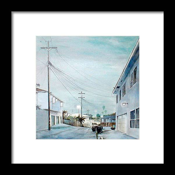 Cityscapes Framed Print featuring the painting White Nights by Duke Windsor