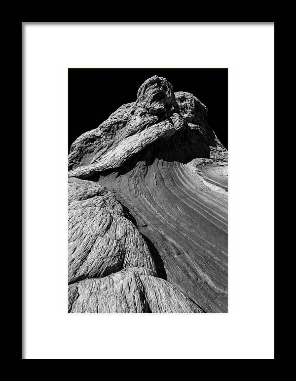 Arizona Framed Print featuring the photograph White Pockets 2331 by Bob Neiman