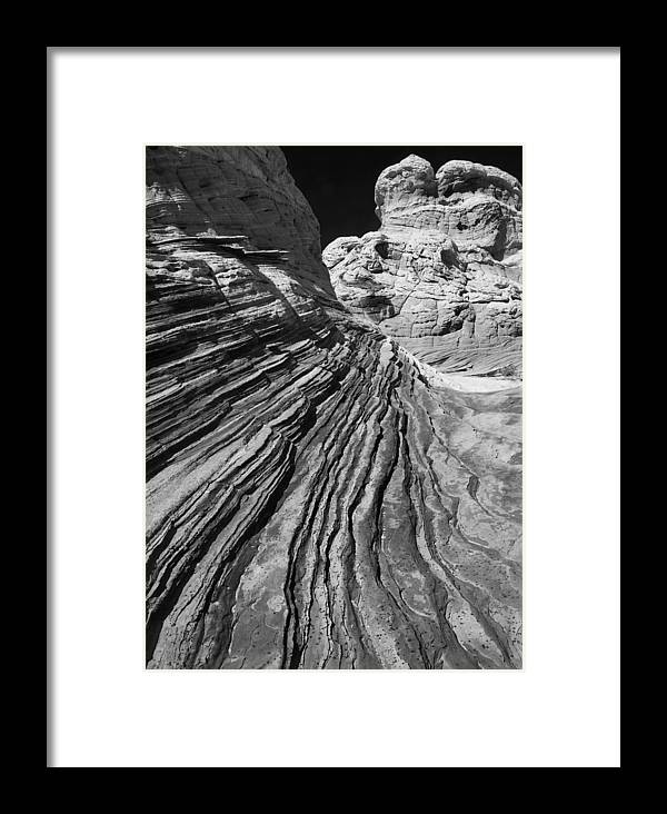 Arizona Framed Print featuring the photograph White Pockets 2361 by Bob Neiman