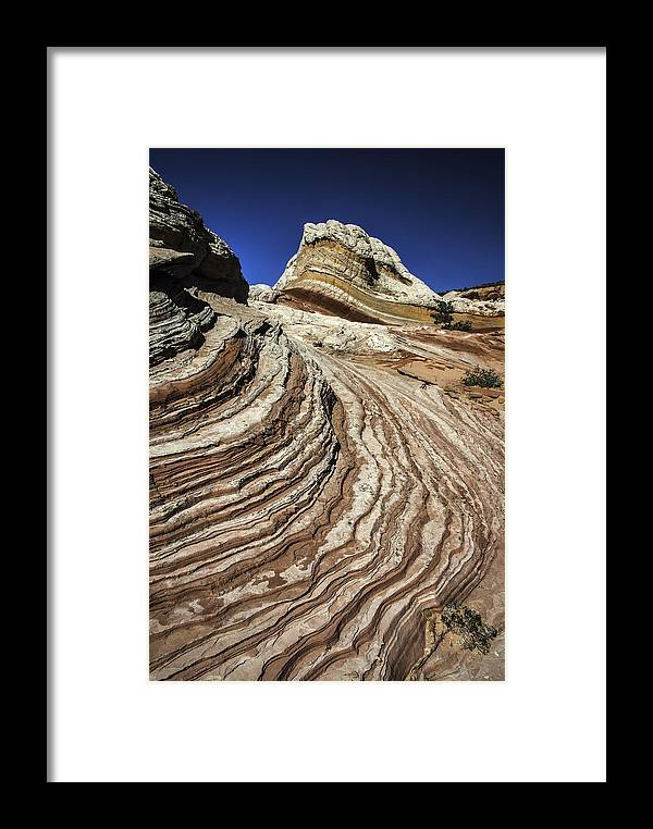 Arizona Framed Print featuring the photograph White Pockets 2376 by Bob Neiman