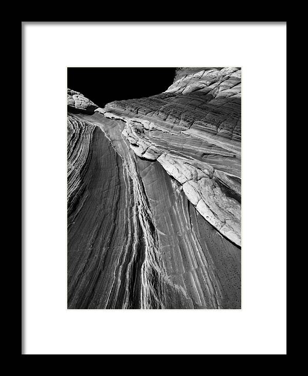 Arizona Framed Print featuring the photograph White Pockets 2382 by Bob Neiman
