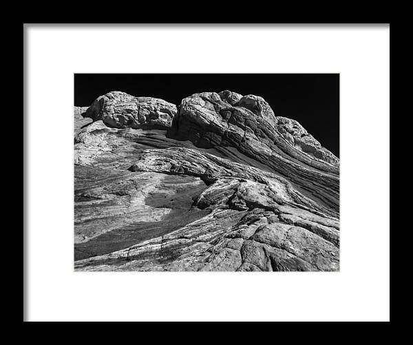Arizona Framed Print featuring the photograph White Pockets 2395 by Bob Neiman