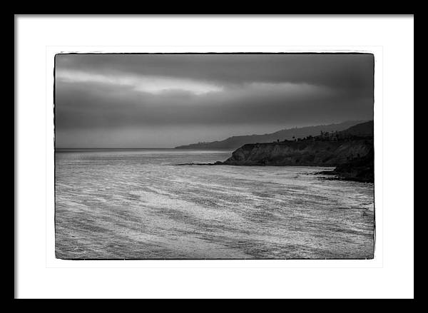 White Point Framed Print featuring the photograph White Point, Rancho Palos Verdes by Michael Ziegler