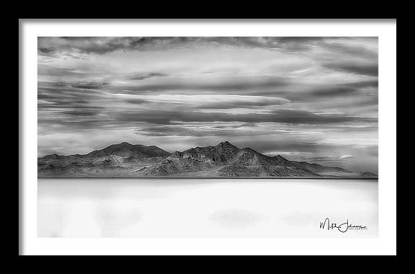 White Sands BW by Mitch Johanson
