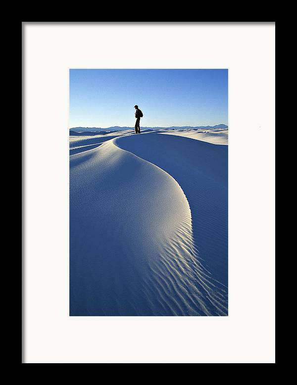 Travel Framed Print featuring the photograph White Sands National Monument, Nm Usa by Dawn Kish