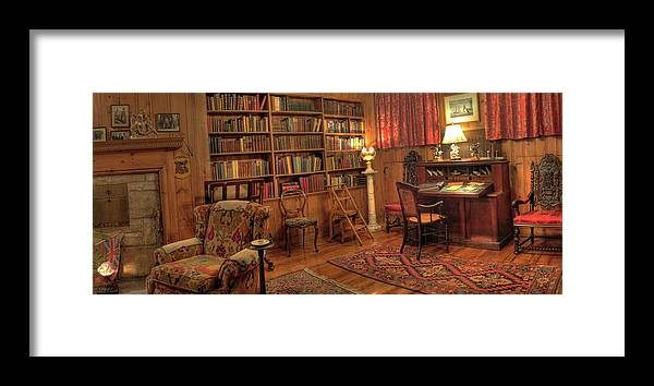 Whitehern Framed Print featuring the photograph Whitehern Library by Larry Simanzik