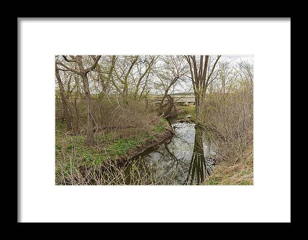 Creek Framed Print featuring the photograph Whitewater River Spring 41 A by John Brueske