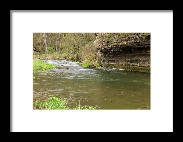 River Framed Print featuring the photograph Whitewater River Spring 42 by John Brueske