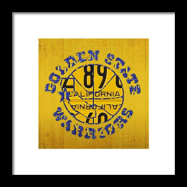 Basketball Framed Print featuring the photograph Who Are You Rooting For In The #nba by Design Turnpike