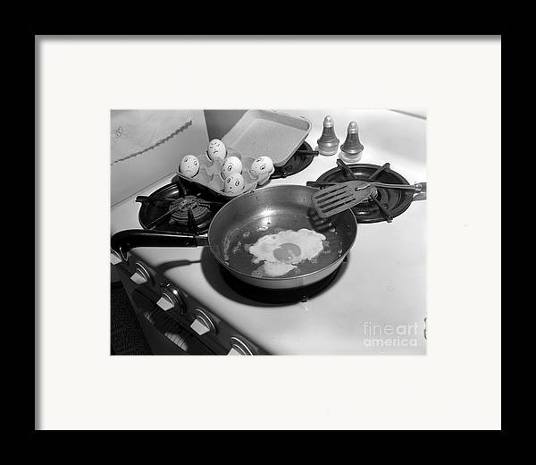 Kitchen Framed Print featuring the photograph Who Is Next by Larry Keahey
