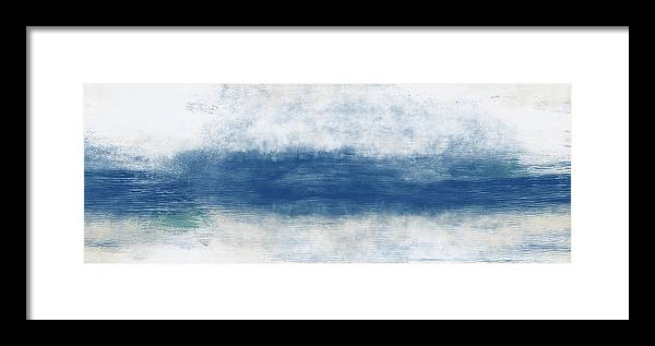 Beach Framed Print featuring the mixed media Wide Open Ocean- Art by Linda Woods by Linda Woods