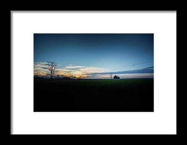Farm Framed Print featuring the photograph Wide Open Spaces by Shane Holsclaw