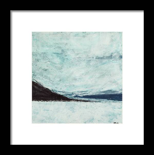 Canvas Print Framed Print featuring the painting Wild Blue Yonder by K Batson Art