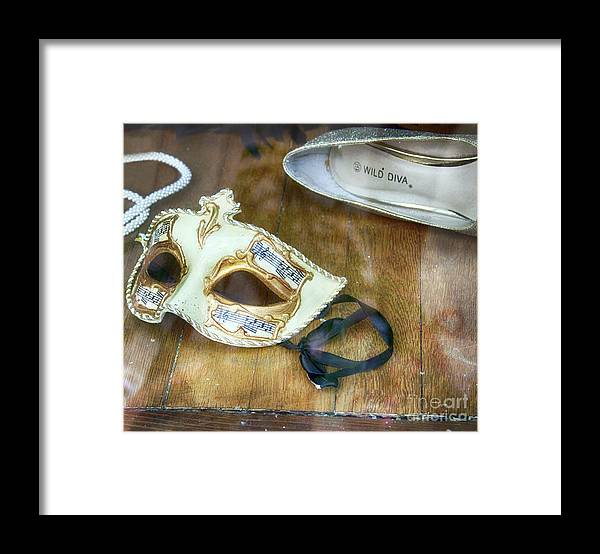 Masks Framed Print featuring the photograph Wild Diva by Steven Digman