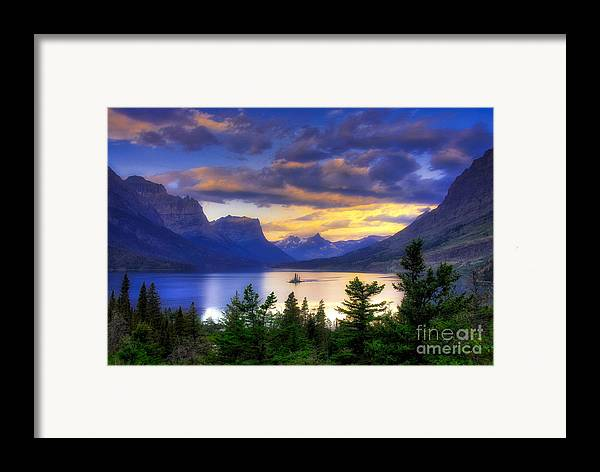 Wild Goose Island Framed Print featuring the photograph Wild Goose Island by Mel Steinhauer