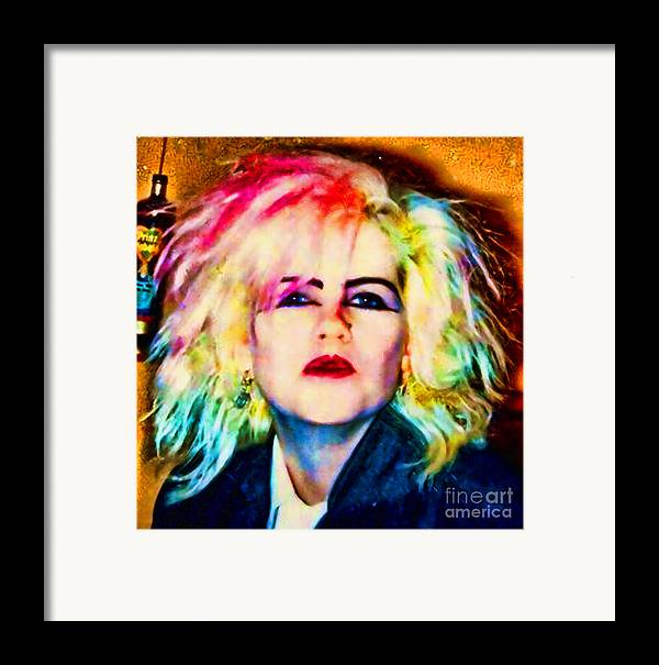 Wild One Framed Print featuring the photograph Wild One by Kim Shatwell-Irishphotographer
