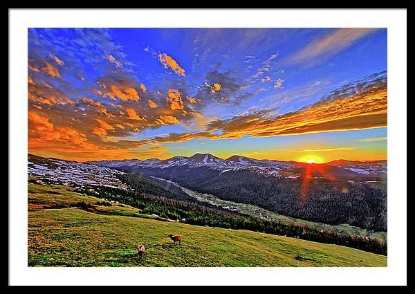 Wild Sunset by Scott Mahon