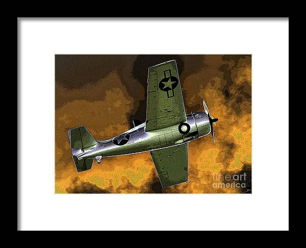 Wildcat Framed Print featuring the painting Wildcat by David Lee Thompson