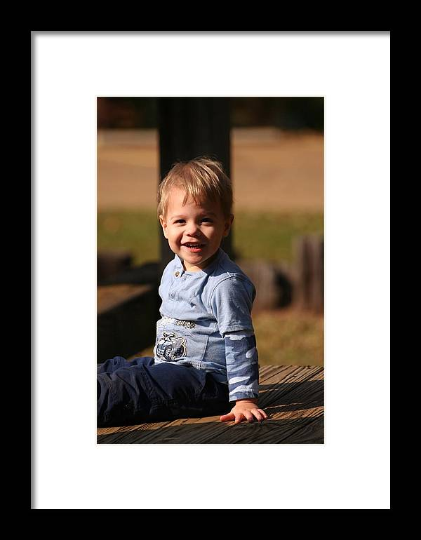 Framed Print featuring the photograph Will by Lisa Johnston