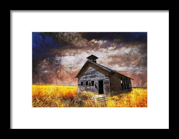 House Framed Print featuring the photograph Will This Be The Way Of Education In The Us by Jeff Burgess