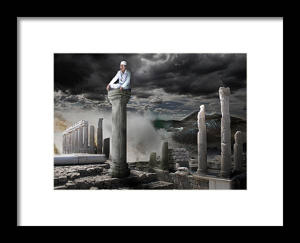 Willink Framed Print featuring the photograph Willink's Meditation by Dray Van Beeck