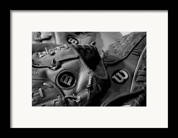 Baseball Framed Print featuring the photograph Wilson 3 by Jame Hayes