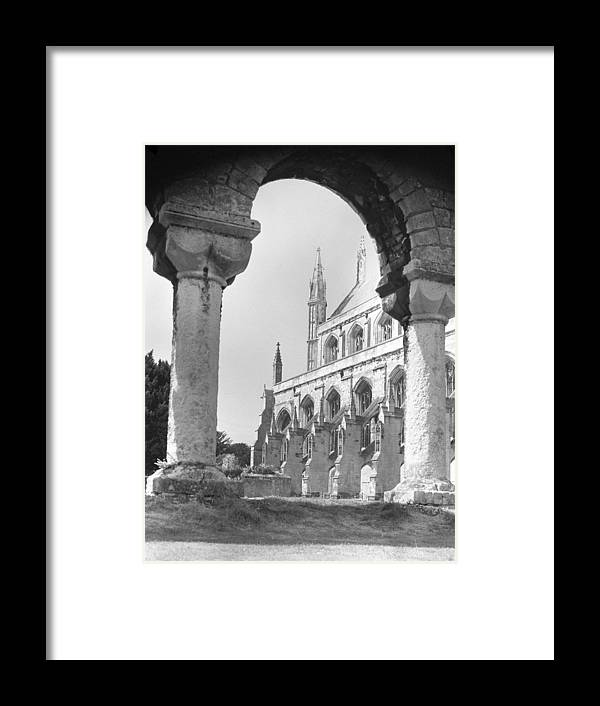 Winchester Framed Print featuring the photograph Winchester Cathedral England by Richard Singleton