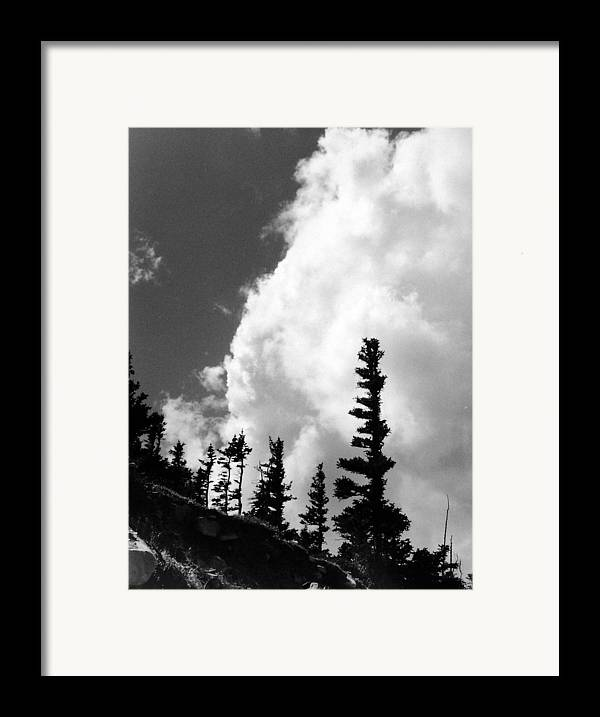 Landscape Framed Print featuring the photograph Wind Formed by Allan McConnell