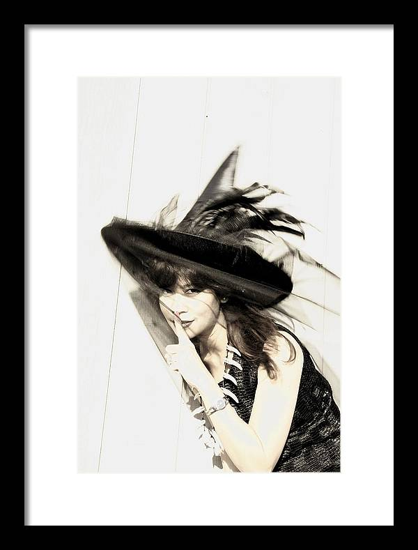 Portrait Framed Print featuring the photograph Wind by Viktor Savchenko