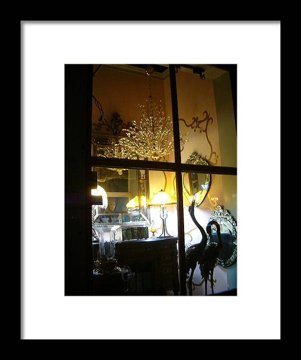 Widows Framed Print featuring the photograph Window Shopping In The French Quarter by Heather S Huston