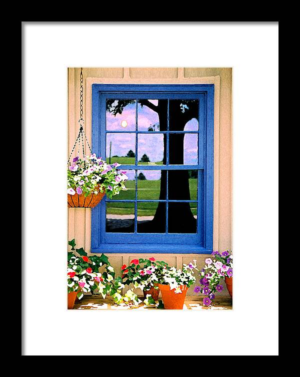 Still Life Framed Print featuring the photograph Window by Steve Karol