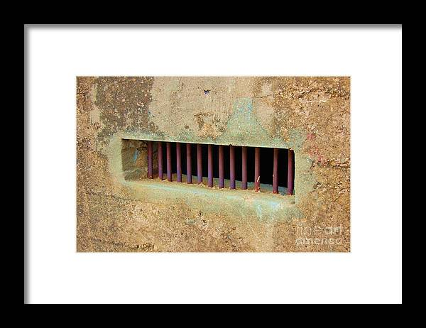 Jail Framed Print featuring the photograph Window to the World by Debbi Granruth