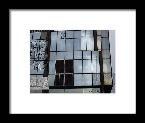 City Framed Print featuring the photograph Window Washed by Jim Beer