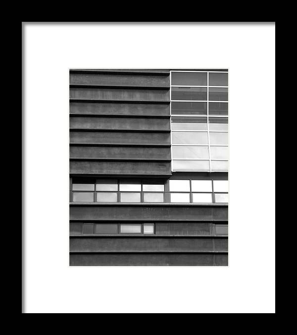 Buildings Framed Print featuring the photograph Windows 01 by Sephora Silva