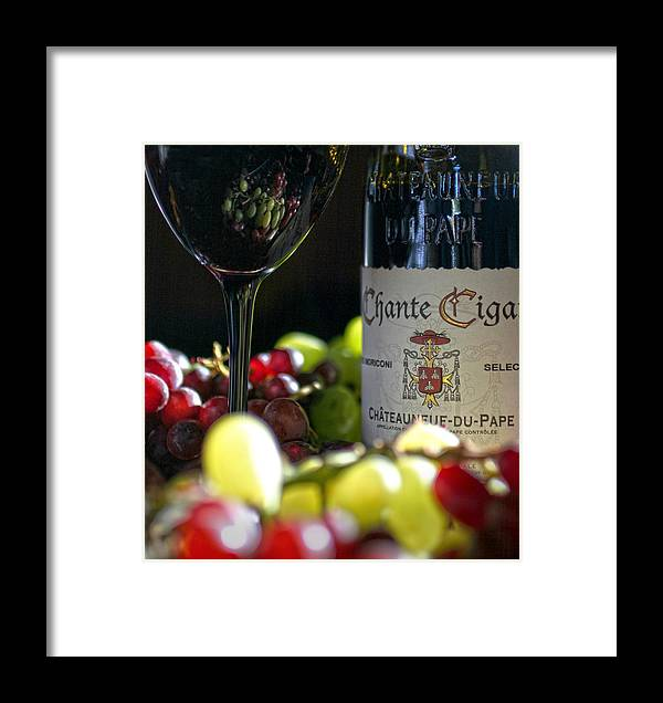 Wine Framed Print featuring the photograph Wine Art by Robert Och