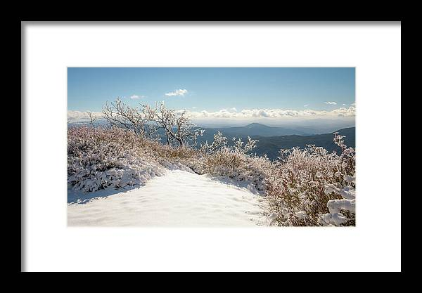 Winter Framed Print featuring the photograph Winter Above The Land by Shuwen Wu